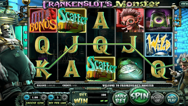 Скриншот Frankenslot's Monster