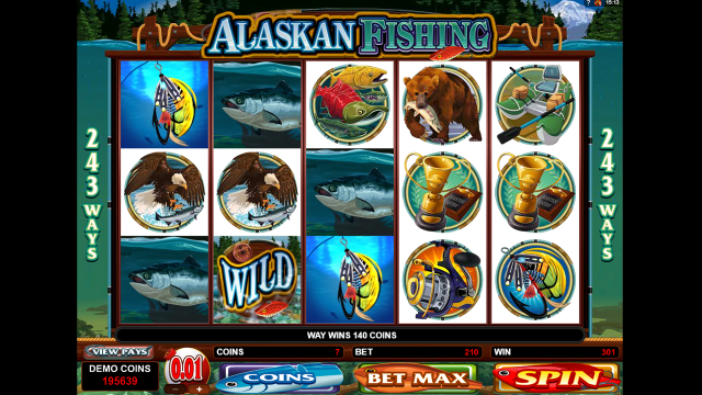 Скриншот Alaskan Fishing