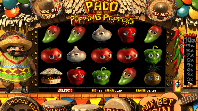 Скриншот Paco And Popping Peppers