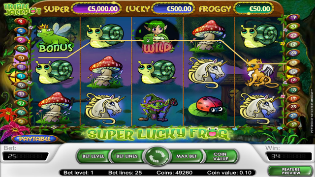 Скриншот Super Lucky Frog